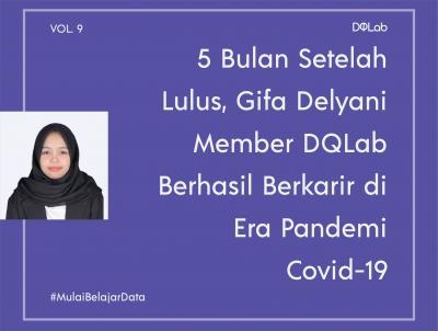 5 Bulan Lulus Kuliah, Gifa Delyani Berhasil Berkarir di bidang data di Era Pandemi COVID-19 Bermodal Pantang Menyerah!