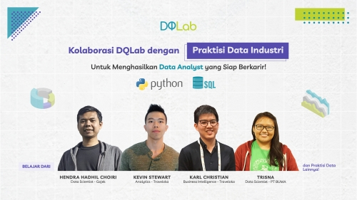 "Bangun Portofolio Data Science dengan Mengakses Program Baru DQLab  ""Data Analyst Python Career Track"""