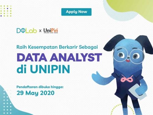 Raih Kesempatan Berkarir Menjadi Data Analyst bersama DQLab dan UniPin dengan Mengakses Project Ini!