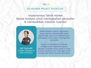 Belajar Data Science di DQLab: Tingkatkan Penjualan & Pecahkan Masalah Inventori dengan Market Basket Analysis