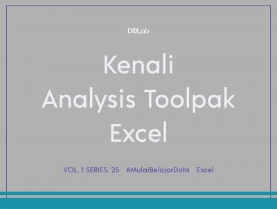 Analysis ToolPak Excel, Tools Recommended Yang Wajib Dicoba!