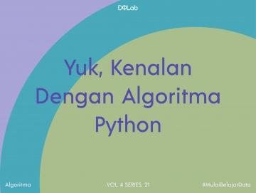 Algoritma Python : 3 Buku Python dalam Bahasa Indonesia Ini Layak Dijadikan Pegangan Bagi Pemula