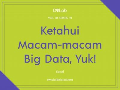 Pahami Macam-macam Teknologi Pendukung Big Data