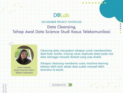 Belajar Data Science di DQLab: Data Cleansing Tahap Awal Data Science Studi Kasus Telekomunikasi
