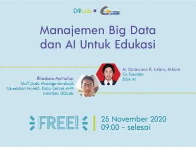 Manajemen Big Data dan AI Untuk Edukasi