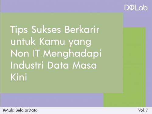 Yuk, Intip Starter Pack Belajar Data Science untuk Kamu yang Tidak Memiliki Background IT!