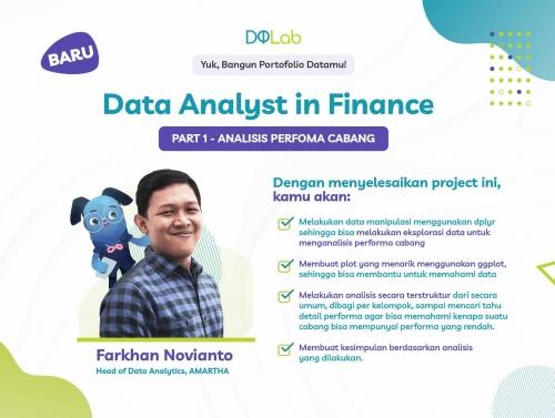 Belajar Data Science untuk Siap berkarir sebagai Data Analyst, Yuk akses Project Baru DQLab Sekarang