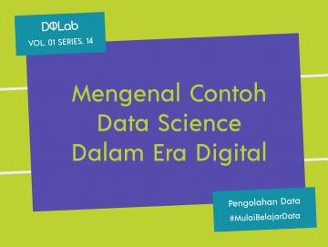 3 Contoh Penerapan Data Science Dengan Teknik Pengolahan Data Statistik