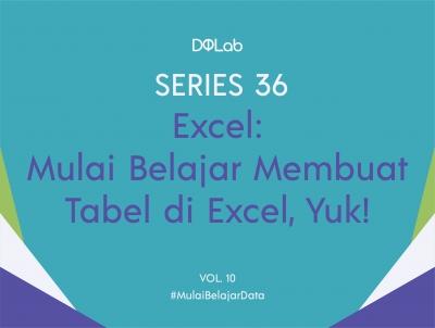 Belajar Excel : Cara Cepat dalam Membuat Tabel di Excel