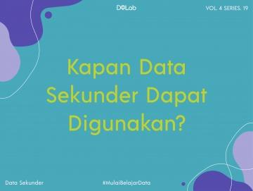 Kapan Data Sekunder Dapat Digunakan? Hal Yang Penting Diketahui Ketika Melakukan Penelitian