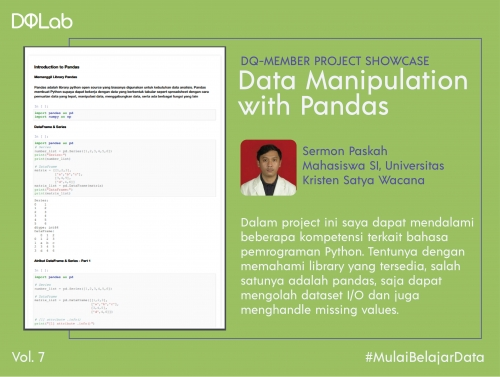 Belajar Data Science di DQLab: Bangun Data Manipulation with Panda untuk Perdalam Bahasa Pemrograman Python