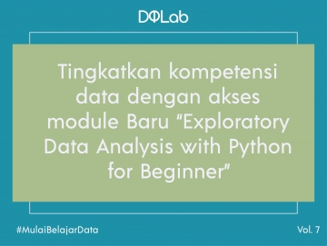 "[BARU] Belajar Data Analyst dengan Module DQLab Data Analyst Career Track ""Exploratory Data Analysis with Python for Beginner"""