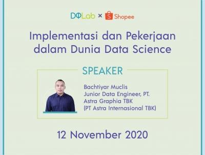 Implementasi dan Pekerjaan dalam Dunia Data Science
