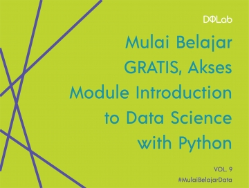 Belajar Data Science : Yuk, Akses FREE Module DQLab Introduction to Data Science with Python