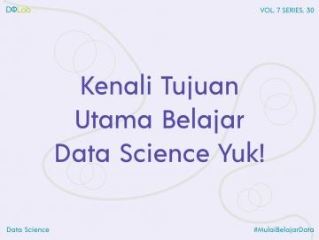 Penerapan Tujuan Utama Data Science Pada Big Data