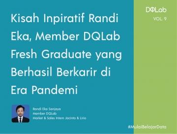 Kisah Inspiratif Randi Eka Member DQLab, Perjuangan Fresh Graduate untuk Meniti Karir di Era Pandemi