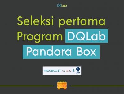 Simak Informasi Seleksi Pertama Program DQLab Pandora Box, Yuk!