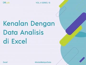 Analysis ToolPak : Tools Analysis Data di Excel